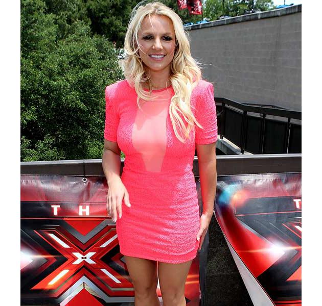 Britney Spears a dieta severa