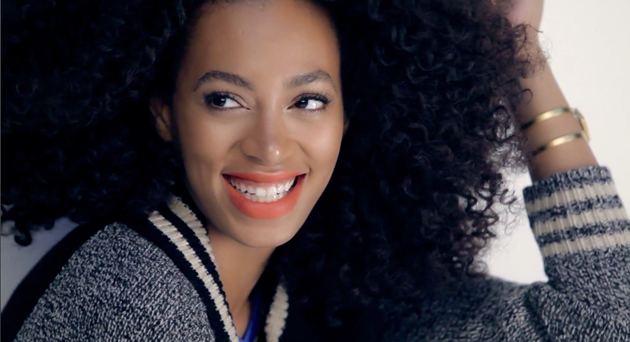 Solange Knowles, imagen para Madewell