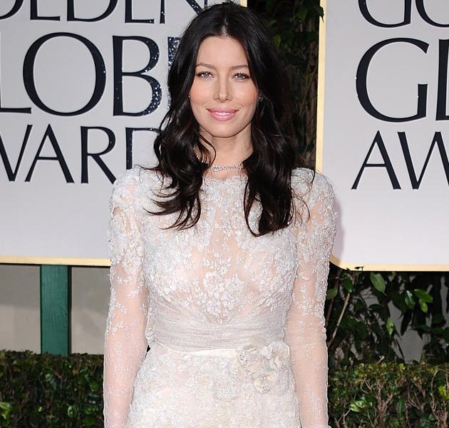 disenador vestido jessica biel: