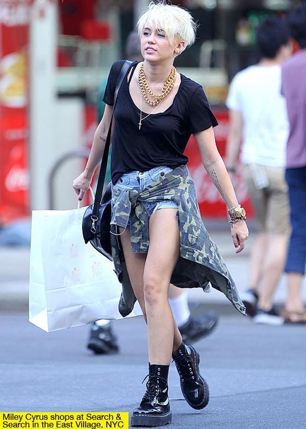 Miley Cyrus, abanderada del nuevo grunge