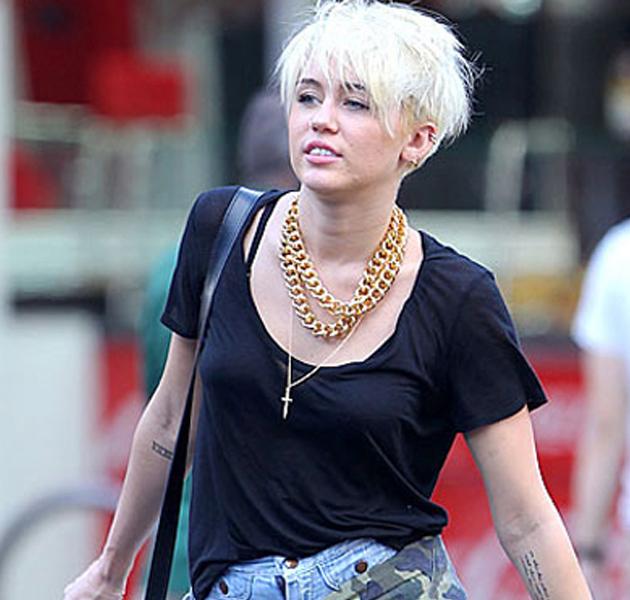 Miley Cyrus, más grunge que nunca
