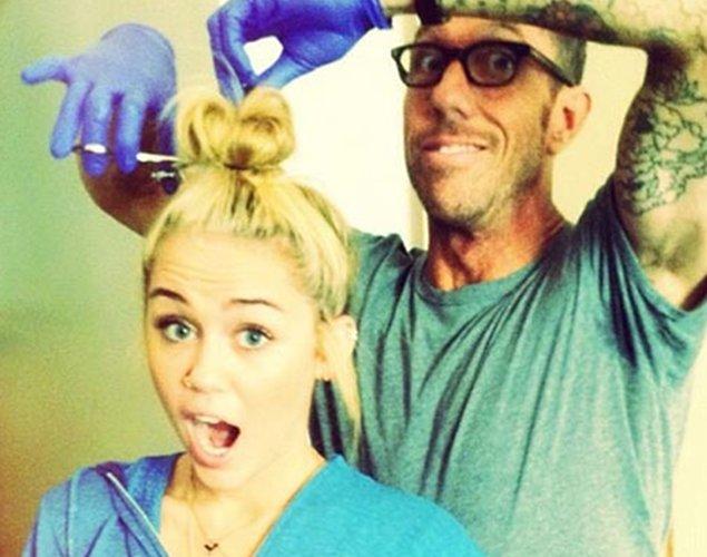Miley Cyrus nos da la sorpresa y se hace un cambio de look radical