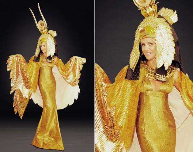El disfraz de este año 2012 de Heidi Klum