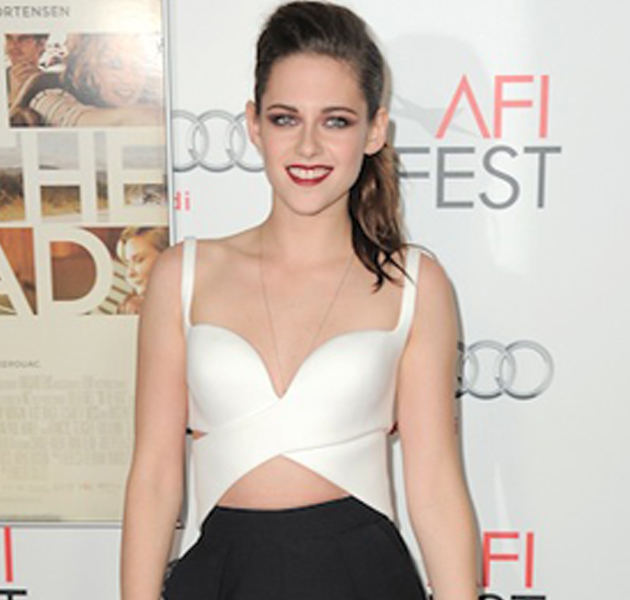 Kristen Stewart en el Festival AFI 2012 presentando On The Road