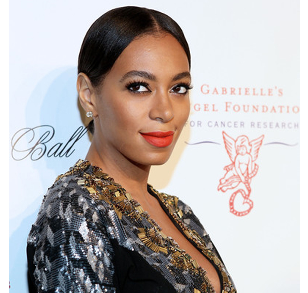 Solange Knowles aparca el afro en el Angel Ball