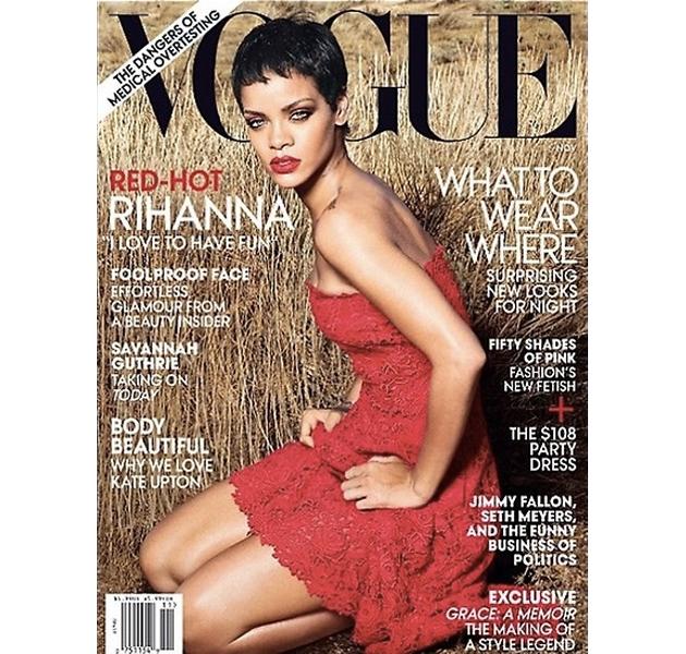 Rihanna se convierte en portada de Vogue