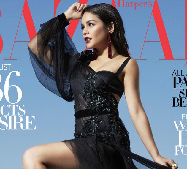 Vanessa Hudgens, impresionante en Harper's Bazaar