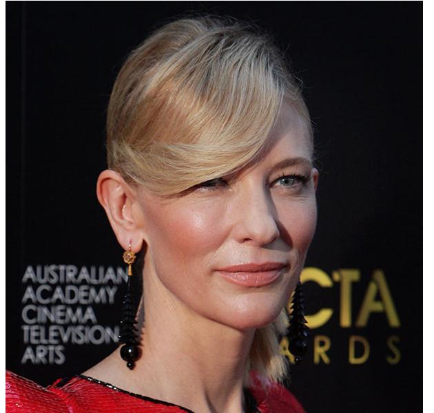 El flequillo con onda de Cate Blanchett