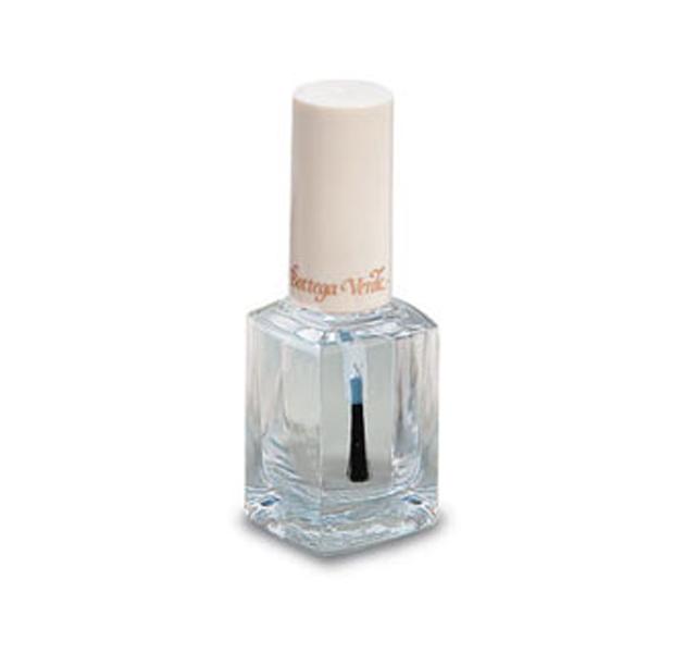 Usa tu esmalte transparente para algo más que para tu manicura ...