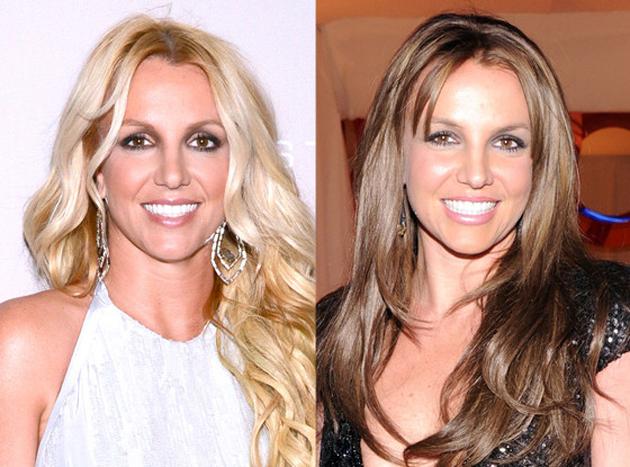 Britney Spears nos da la sorpresa y se pasa al castaño ¡y le queda fenomenal!