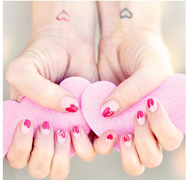 Especial manicuras para San Valentin