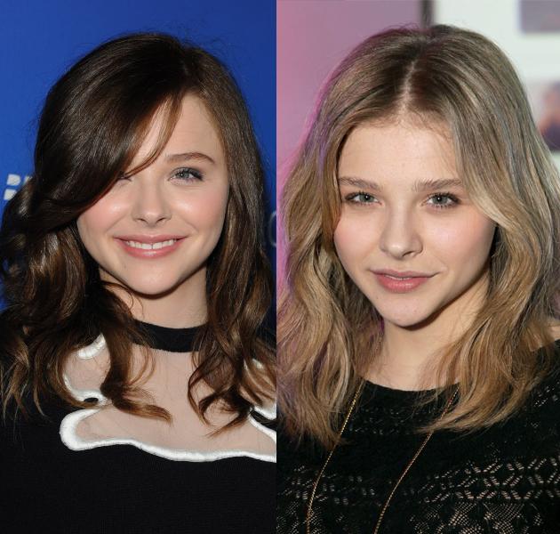 Últimos cambios de looks vistos en celebrities: Chloe Moretz, Demi Lovato o Kat Graham