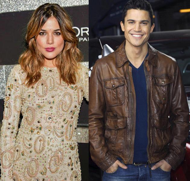 Adriana Ugarte y Alex González, ya no esconden que son pareja