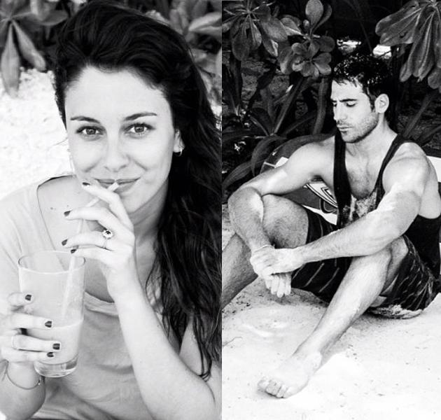 Blanca Suárez y Miguel Ángel Silvestre, pasando unos románticos días en Tailandia
