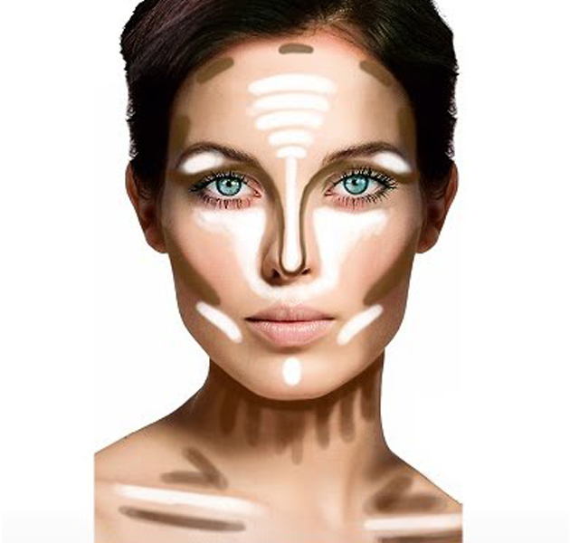 Como adelgazar tu cara con maquillaje