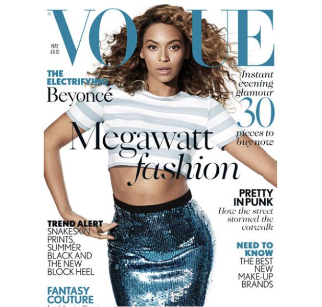 Beyoncé, Adele y más estrellas en las portadas de las revistas de mayo