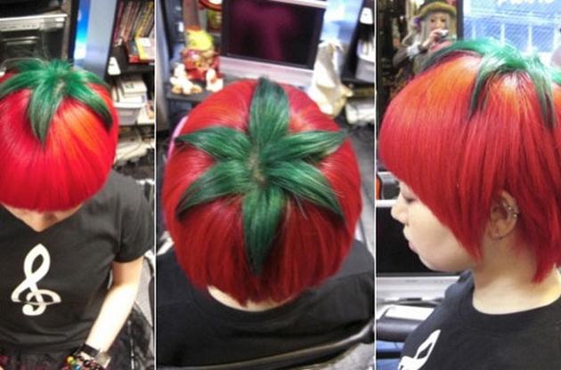 Desde Japón llegan… ¡las cabezas tomates!