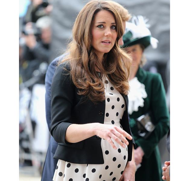 Kate Middleton de parto a punto de ser madre