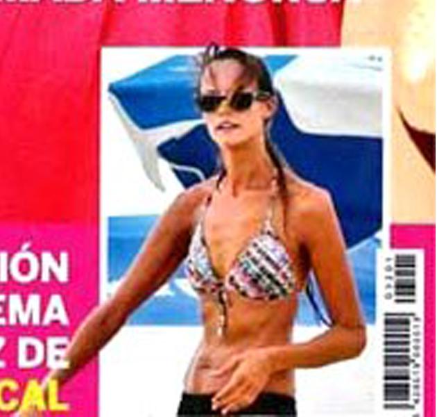 Shaila Dúrcal más delgada que nunca