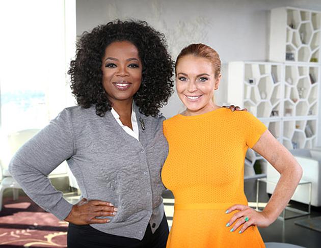 """Lindsay Lohan se confiesa """"una adicta"""" con Oprah"""