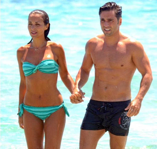 Paula Echevarria en bikini disfruta de Ibiza