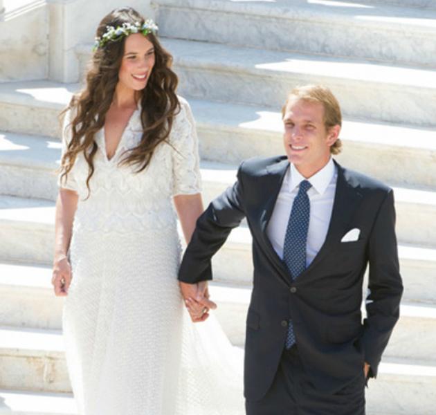 Matrimonio Simbolico Santo Domingo : La boda de andrea casiraghi y tatiana santo domingo