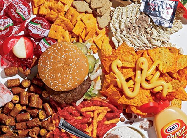 Comida basura y depresión