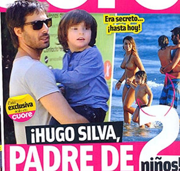 Hugo Silva, padre de gemelos