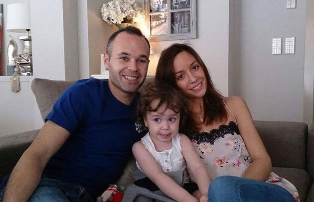 Andrés Iniesta será padre por segunda vez