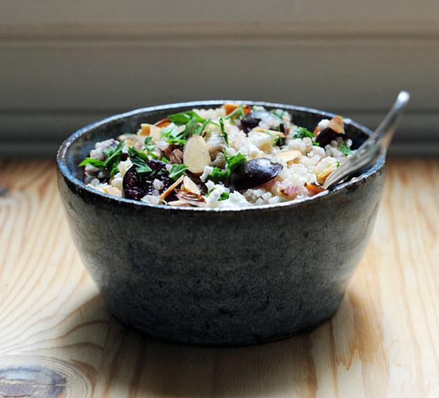 Ensalada de quinoa para llevar al trabajo