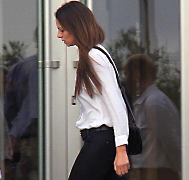 Eva González llora la muerte de su padre