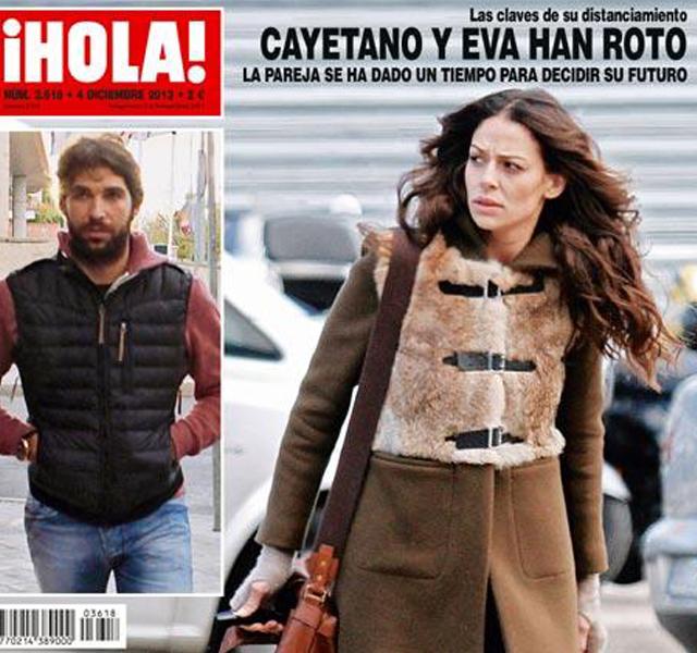 Cayetano Rivera y Eva González han roto