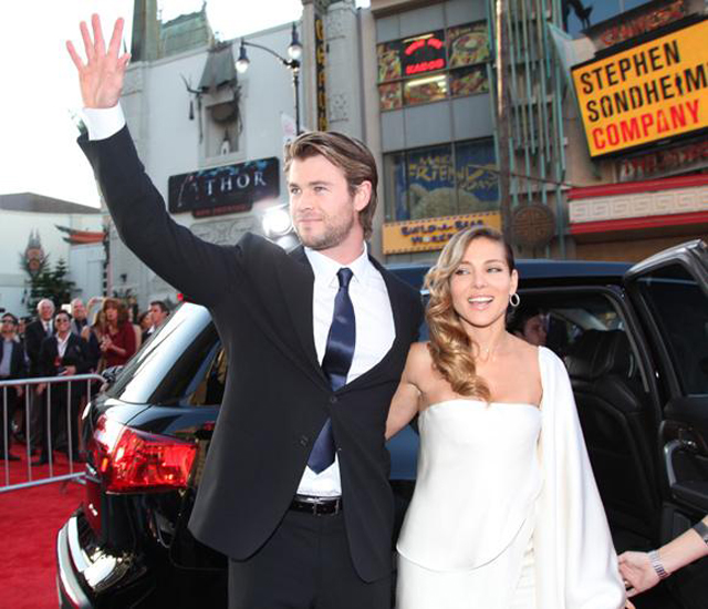 Elsa Pataky y Chris Hemsworth, accidente en barco