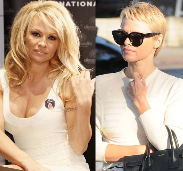 Pamela Anderson, otra famosa con el pelo corto