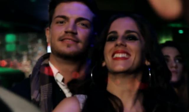 Anabel Pantoja en el videoclip Te Vuelvo a Ver de Jorge Kandel