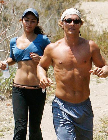 Mathew McConaughey sexy padre de familia