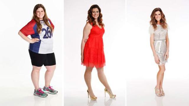 Una mujer adelgaza 70 kilos en un programa de TV