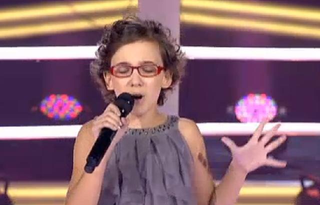 La actuación de Iraila en La Voz Kids