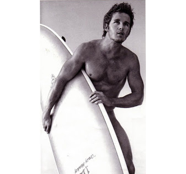 Ryan Kwanten de True Blood desnudo