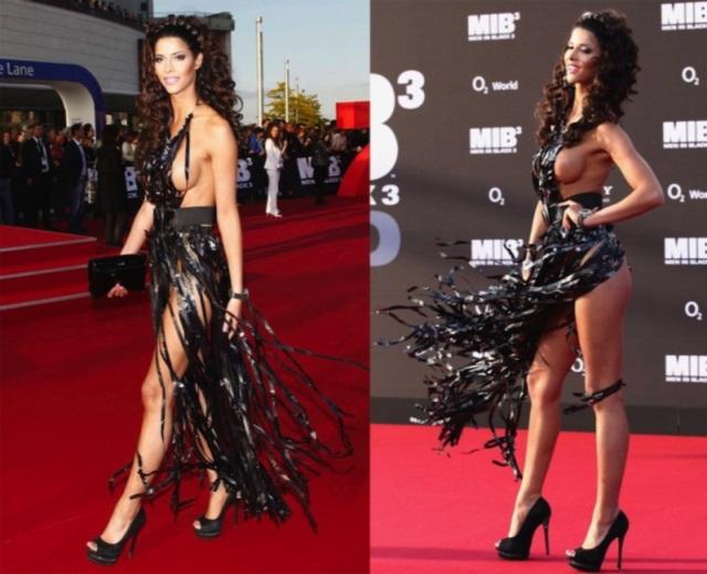 Los vestidos más provocativos de las famosas