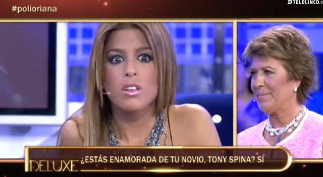 Oriana no está enamorada de Toni Spina