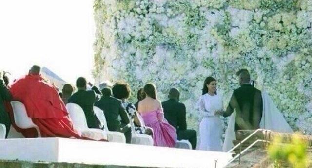 La boda de Kim Kardashian y Kanye West