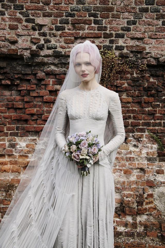 El vestido de novia de Katie Shillingford