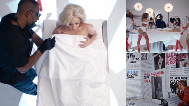 Las escenas filtradas del nuevo y polémico vídeo de Lady Gaga