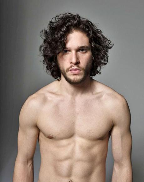 Kit Harington de Juego de Tronos desnudo