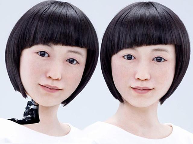 Un robot presenta el telediario Japón