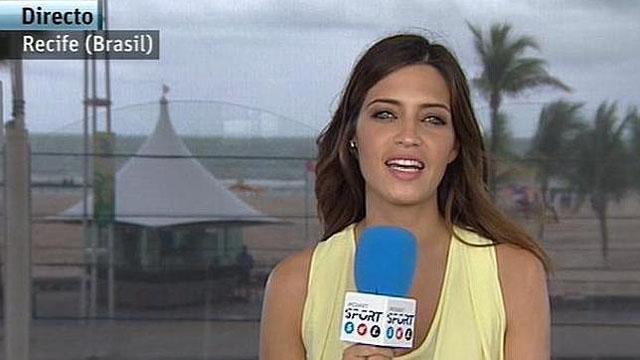 Sara Carbonero publica las claves del wifi de Telecinco en su blog