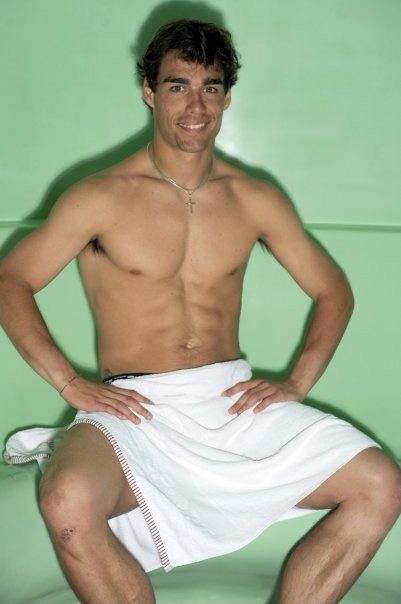 Fabio Fognini desnudo