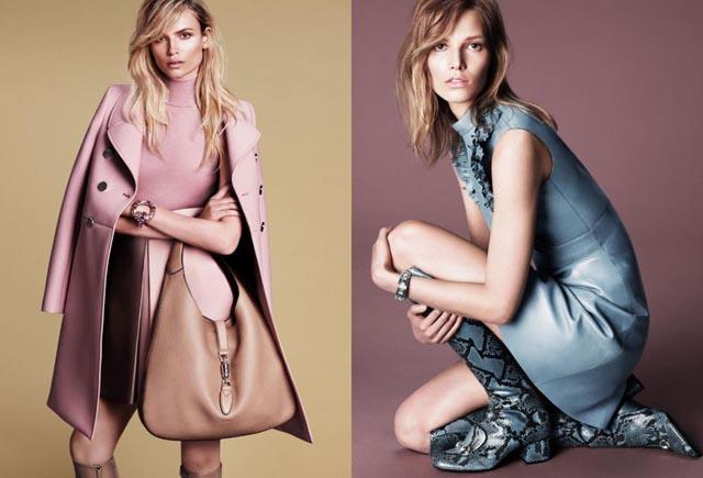 La nueva colección AW 14 de Gucci