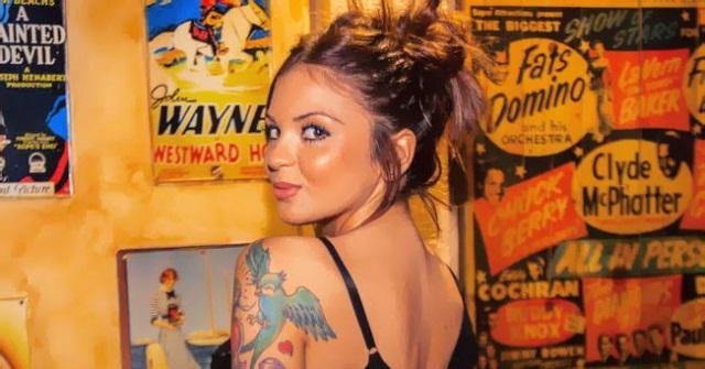 María de MYHYV desnuda en Interviú